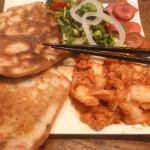 pancakes-kimchi